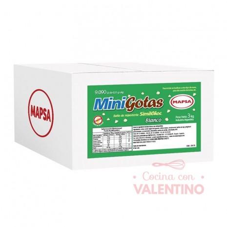 Chip Mini Gota Mapsa Blanco - 3Kg