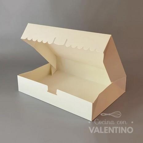 Caja Cartulina Delivery Sin Visor 29.5x20.5x5cm