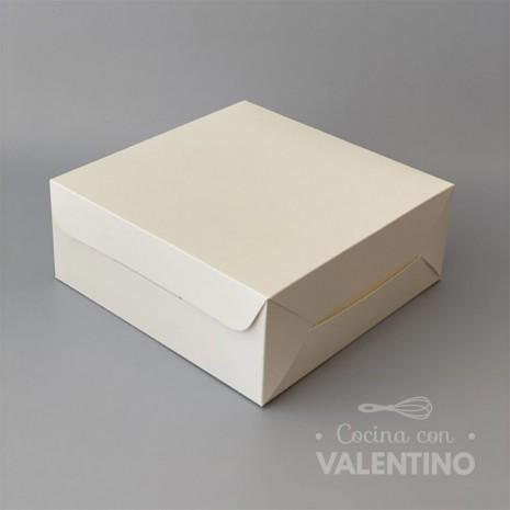 Caja Cartulina Delivery Sin Visor 19x19x8cm