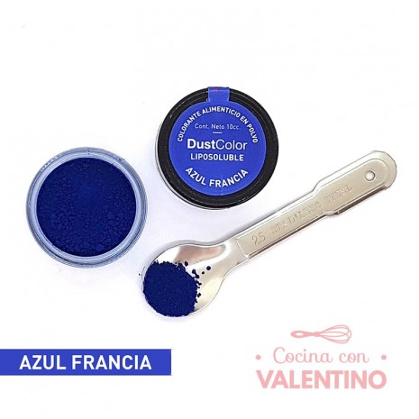 Colorante En Polvo Dust Color Liposoluble Azul Francia - 8Grs