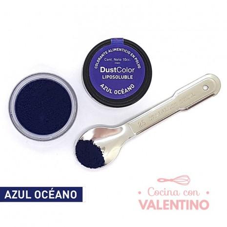 Colorante En Polvo Dust Color Liposoluble Azul Oceano - 8Grs