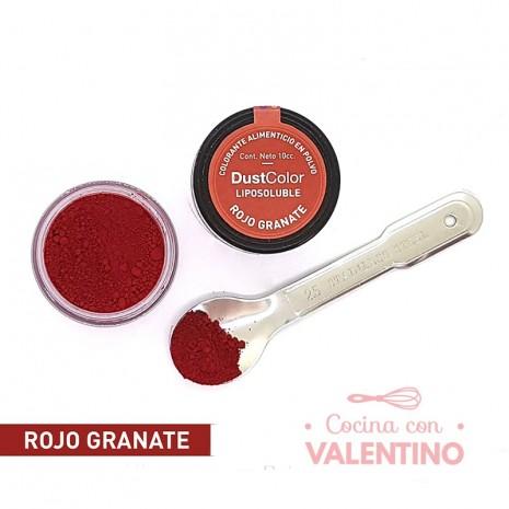 Colorante En Polvo Dust Color Liposoluble Rojo Granate - 8Grs