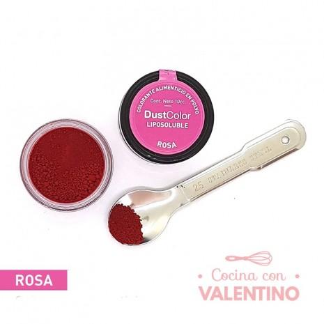 Colorante En Polvo Dust Color Liposoluble Rosa - 8Grs