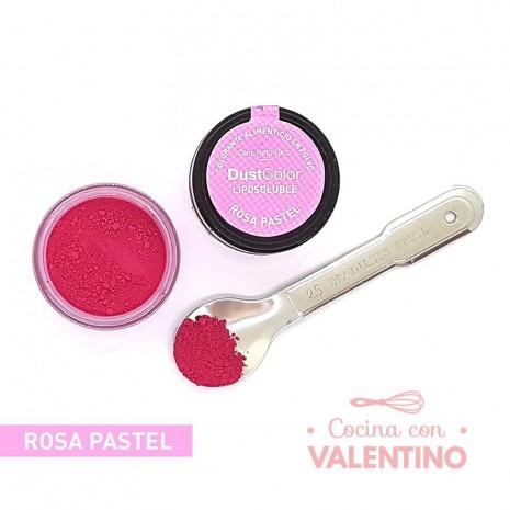 Colorante en Polvo Dust Color Liposoluble Rosa Pastel - 8Grs