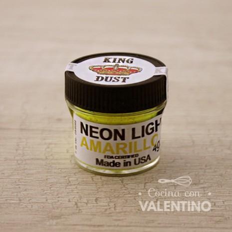 Colorante Neon King Dust Amarillo - 4Grs