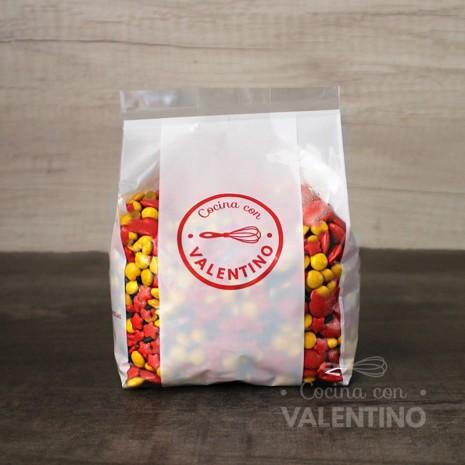 Mix Lentejas de Chocolate Emoji - 450Grs