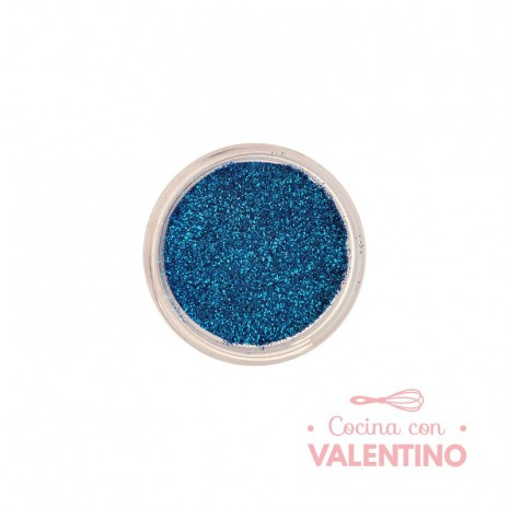 Gliter Azul Pacifico - Azul Oscuro