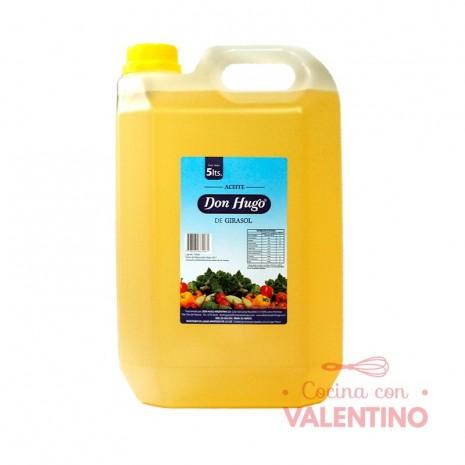 Aceite Girasol Don Hugo - 5Lts