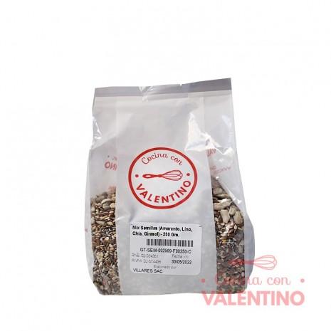 Mix Semillas (Amaranto. Lino. Chía. Girasol) - 250 Grs.