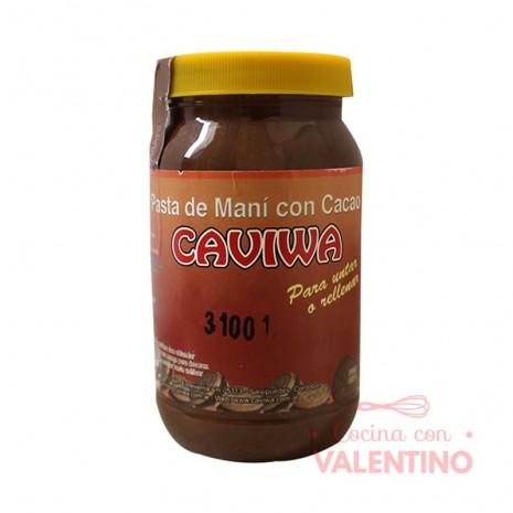 Pasta Mani Relleno c/ Cacao Caviwa - 450Grs