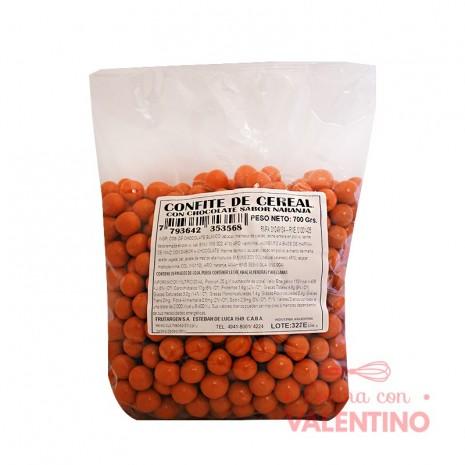 Cereal Confite con Choc. Sabor Naranja - 700Gr