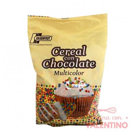 Micro Cereal con Chocolate Multicolor -1Kg