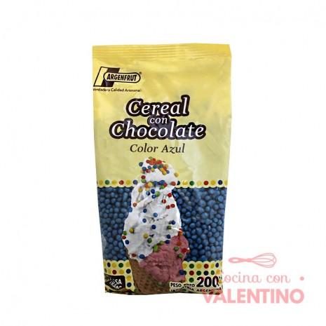 Micro Cereal con Chocolate Azul - 200Gr