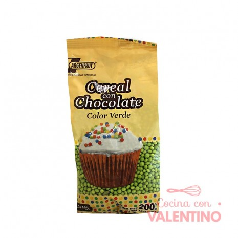 Micro Cereal con Chocolate Verde - 200Gr