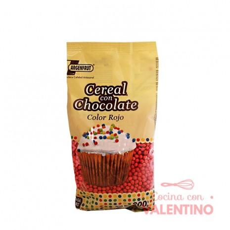 Micro Cereal con Chocolate Rojo - 200Gr