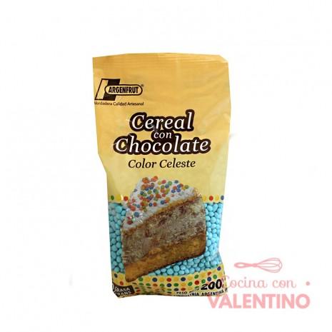 Micro Cereal con Chocolate Celeste - 200Gr