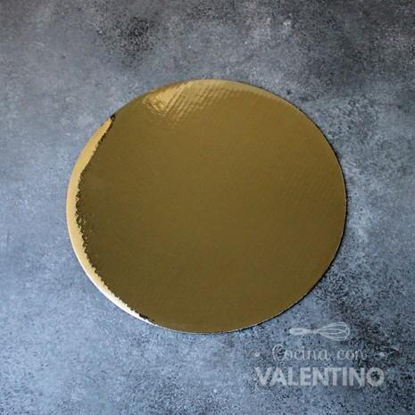Disco Cartón Dorado Alprin 22cm - 1u