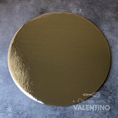 Disco Cartón Dorado Alprin 32cm - 1u