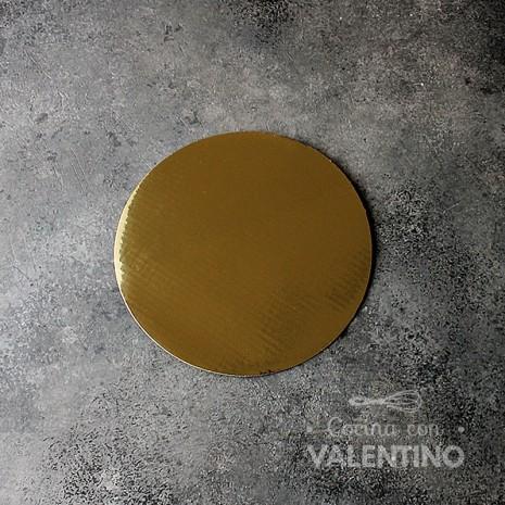 Disco Cartón Dorado Alprin 16cm - 1u