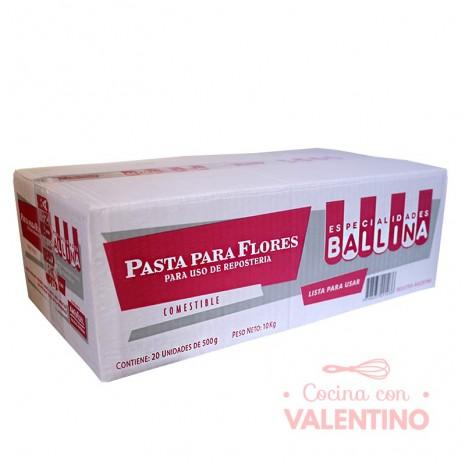 Pasta Para Flores Ballina - 500Grs - Pack 20 Un.