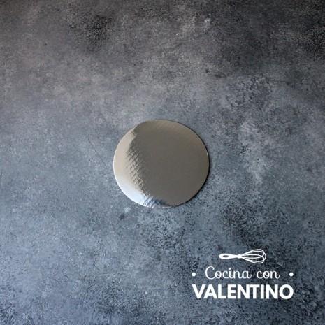 Disco Cartón Plata Alprin 10cm - 1u