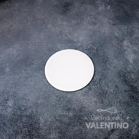 Disco Cartón Blanco Alprin 12cm - 1u