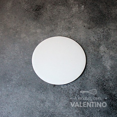 Disco Cartón Blanco Alprin 14cm - 1u