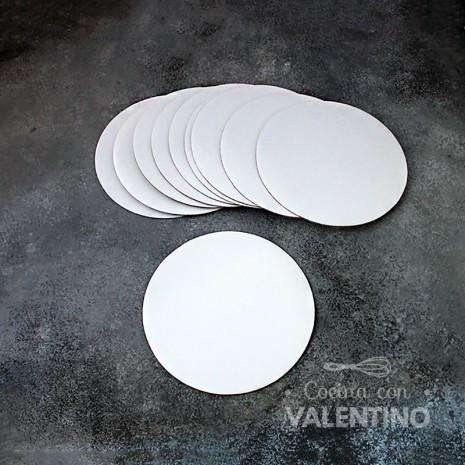 Disco Cartón Blanco Alprin 16cm - 10u