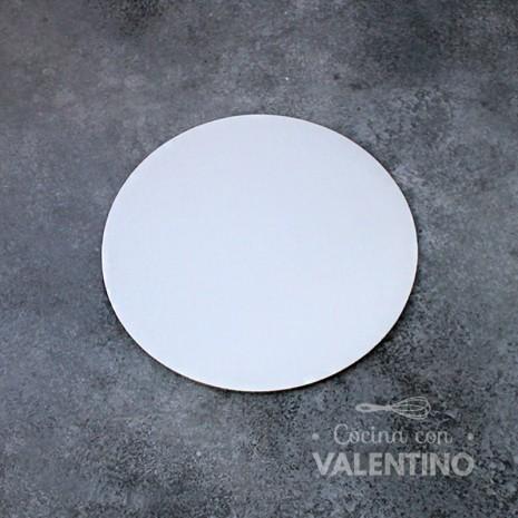 Disco Cartón Blanco Alprin 18cm - 1u
