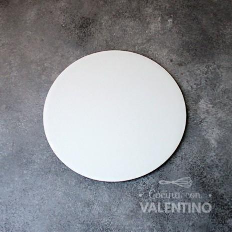 Disco Cartón Blanco Alprin 20cm - 1u