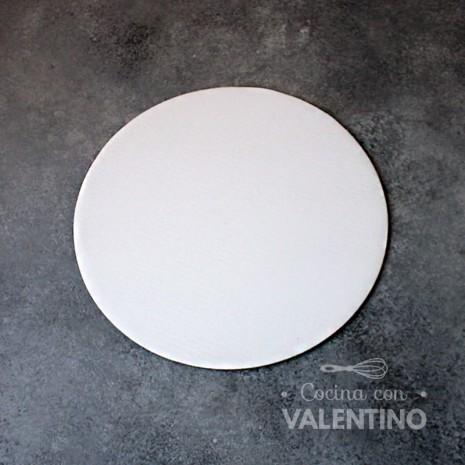 Disco Cartón Blanco Alprin 22cm - 1u
