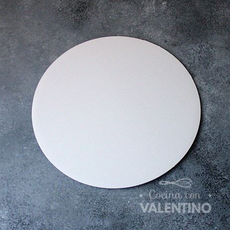 Disco Cartón Blanco Alprin 24cm - 1u