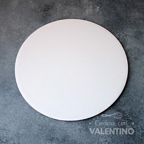 Disco Cartón Blanco Alprin 26cm - 1u
