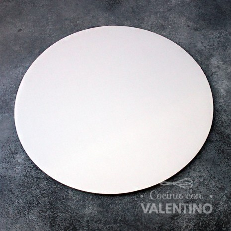 Disco Cartón Blanco Alprin 29cm - 1u