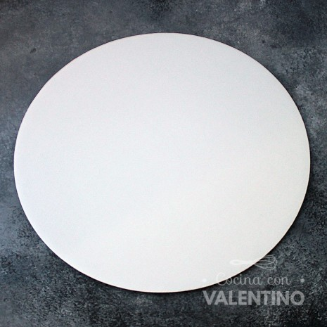 Disco Cartón Blanco Alprin 32cm - 1u