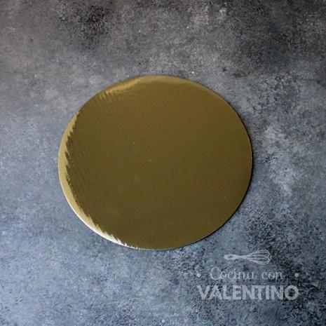 Disco Cartón Dorado Alprin 18cm - 1u
