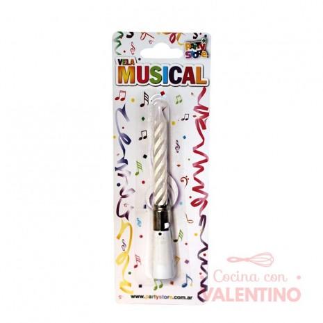 Vela Musical x 1 unidad