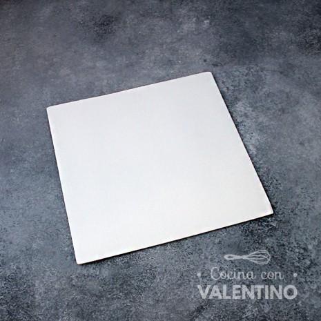 Base Cuadrada Cartón Blanco Alprin 20x20cm - 1u