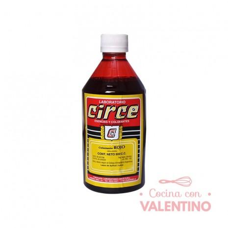 Colorante Rojo Circe - 500Cc