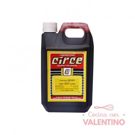 Colorante Rojo Circe - 1Lt