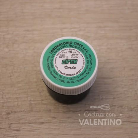Colorante en Pasta Circe 15Grs - Verde