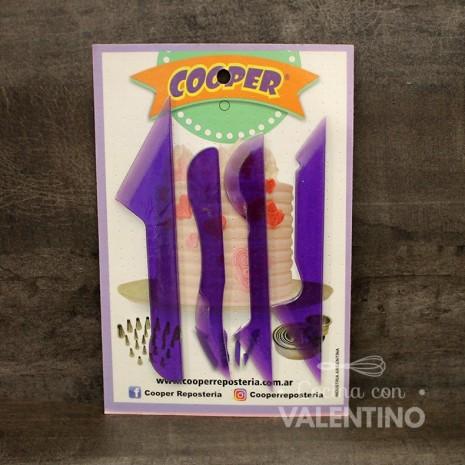 Cuchillos Cooper x4