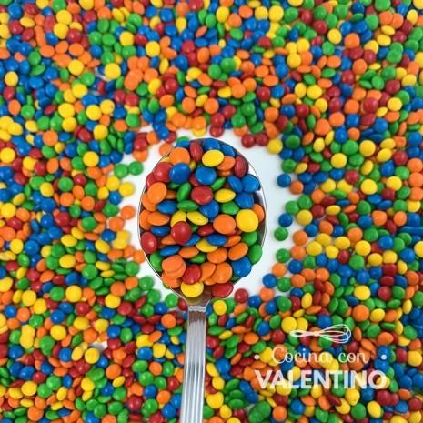 Lentejas Mini de Chocolate Multicolor - 5 Kg.