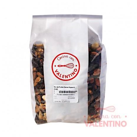 Mix de Frutos Secos Especial (nuez cuartos.almendra.avellanas.castañas.pasas de uva) - 1 Kg.