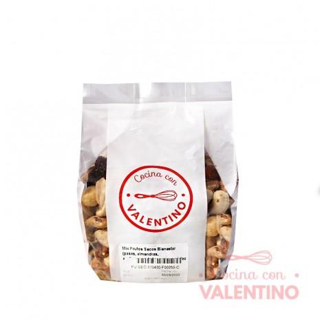 Mix Frutos Secos Bienestar (pasas. almendras. avellanas.castañas.nueces.pistachos) - 250Gr