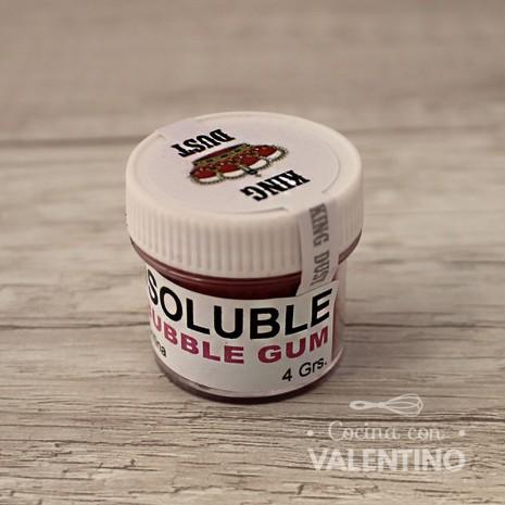 Colorante en Polvo Liposoluble King Dust Bubble Gum - 4Grs