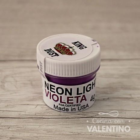 Colorante Neon King Dust Purpura - 4Grs