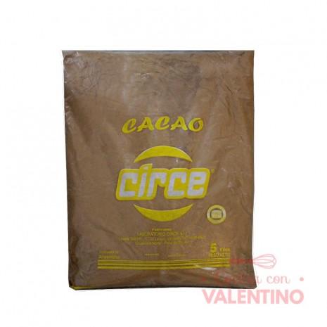 Cacao Amargo Circe 5Kg.