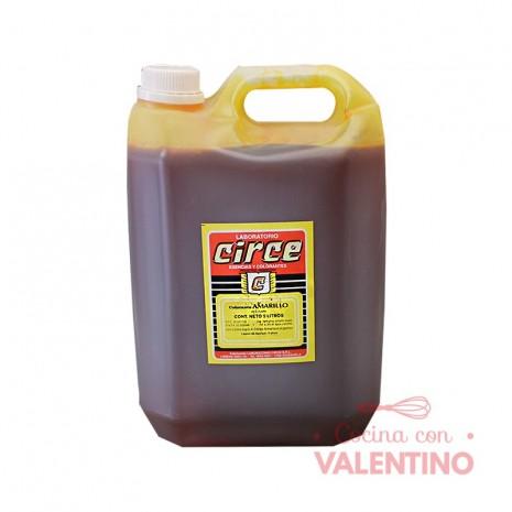 Colorante Amarillo Circe - 5Lt