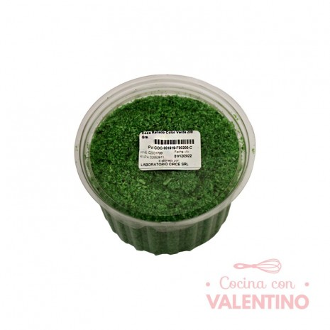 Coco Rallado Color Verde 200 Grs.